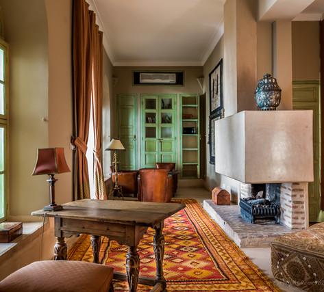 Suite DAR EL BACHA-Bureau salon - Riad C