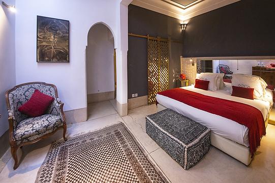 Chambre de la Suite à l'Hotel riad Camilia
