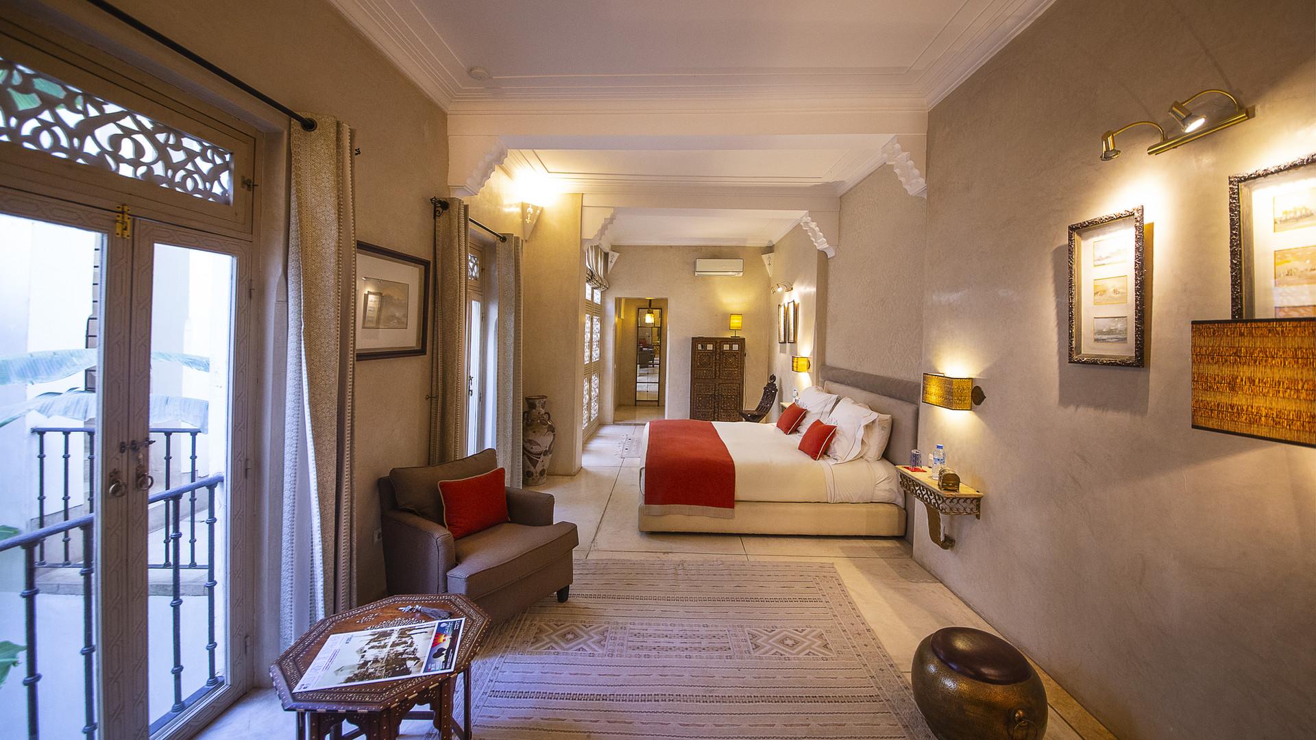 Splendid room of Riad Camilia