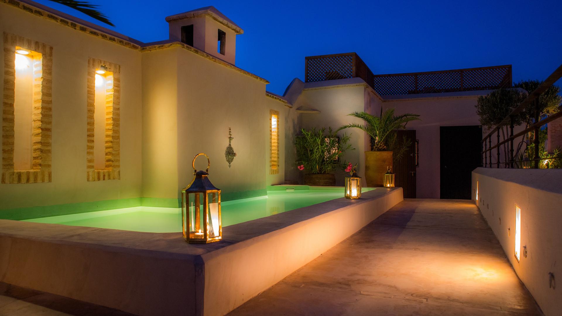 Piscine du rooftop - Riad Camilia