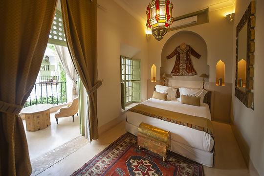 Chambre avec décoration authentique