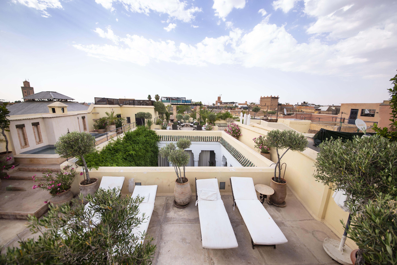 Une des plus belles terrasse de Marrakeche