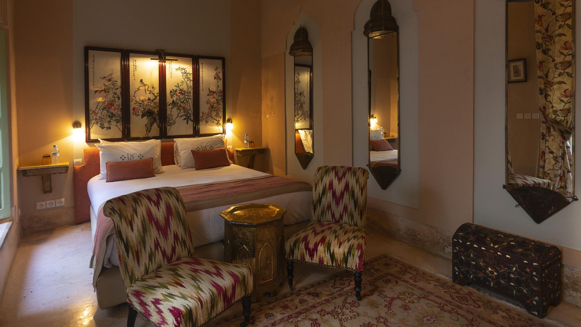 Chambre du Riad Hotel Camilia - Marrakech