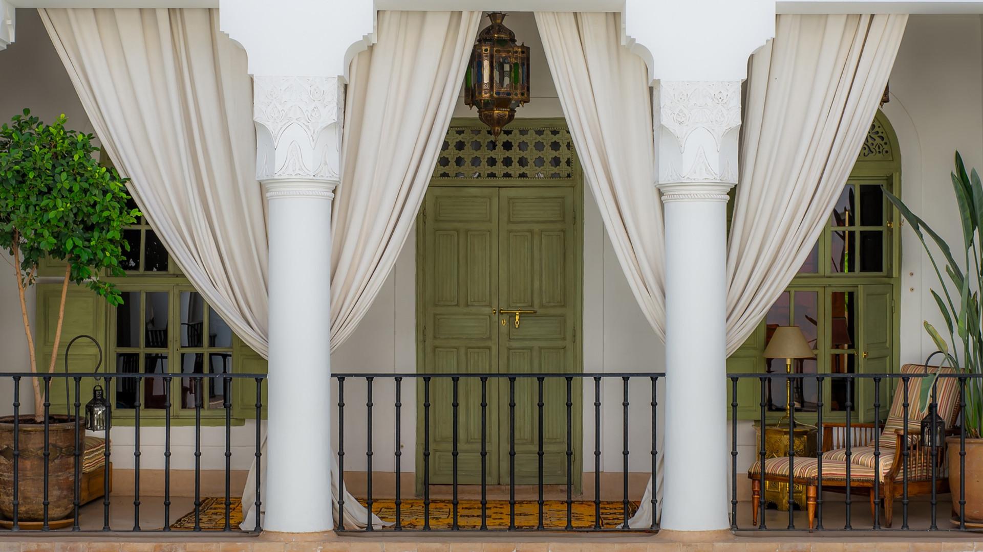 Entrée d'une Suite Riad Camilia