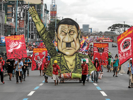 """GABRIELA Los Angeles on Duterte's admission of sexual assault: """"Oust him"""""""