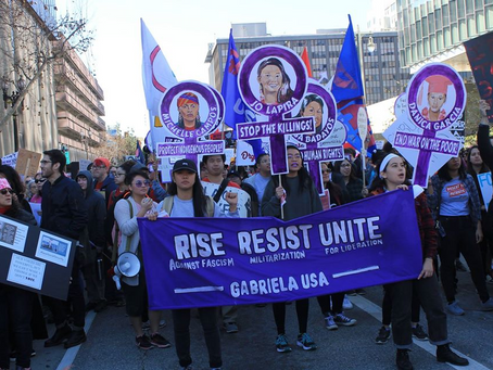 """Gabriela LA: """"U.S. War with Iran Reveals Women's March's Indifference to Women's Rights Globally"""""""