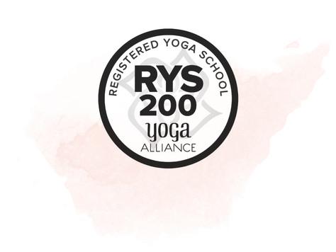 Registered Yoga Teacher Training School