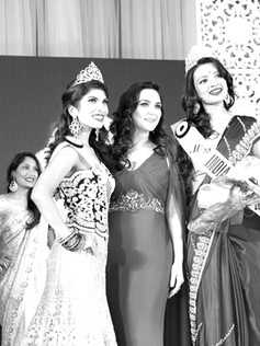 Annu Gaidhu wins miss India-Canada