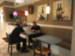 Centanni Cafe staff at Wellington, FL