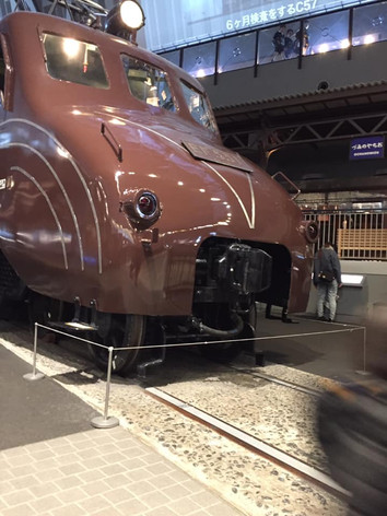 はじめての鉄道博物館