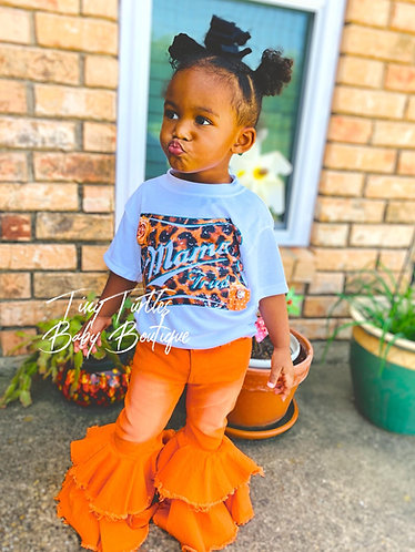 Orange you fabulous denim bells