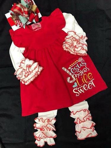 Jesus makes life sweet dress