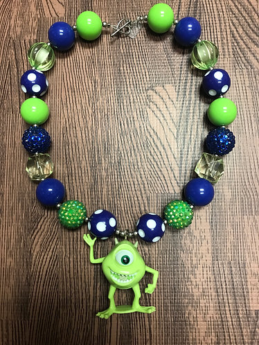 Monsters Inc. Necklace