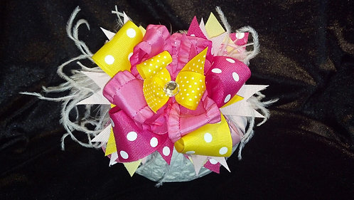 Pink Lemonade Bow