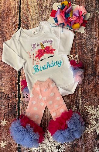 Magical half birthday onesie