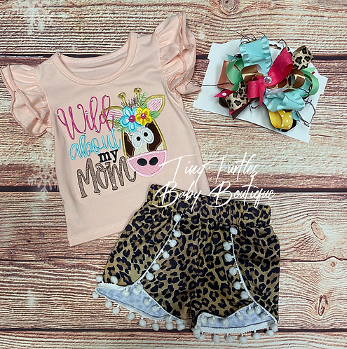Wild about my Mom (2 pc set)