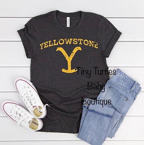 Yellowstone Brand Tee