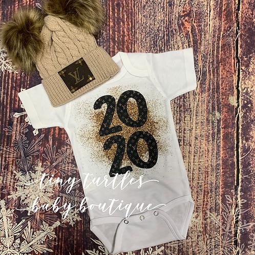2020 Glitter LoVe onesie