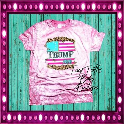 Trump 2020 pink tee