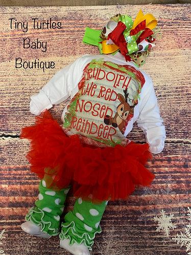 Rudolph onesie