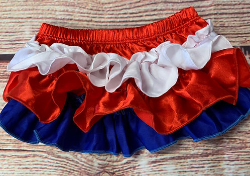 Red, white & blue bloomers