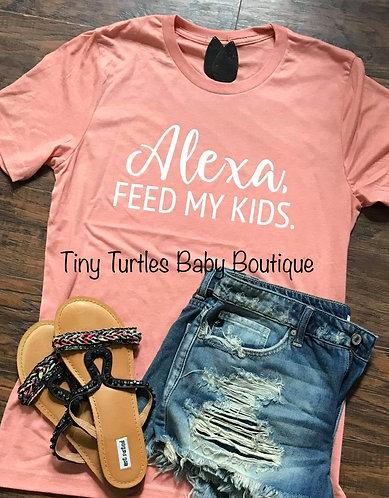 Alexa, feed my kids tee