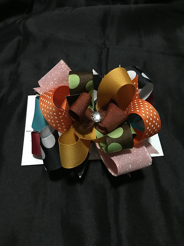 Fall Colors Bow
