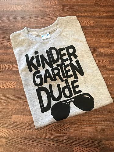 Kindergarten Dude tee