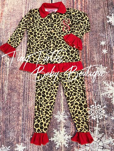 dreamin' in leopard (mommy pj's)