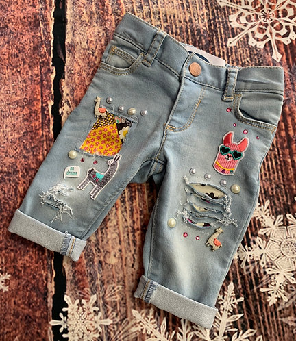 Llama Jeans