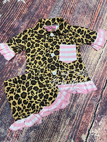 So sweet leopard loungewear