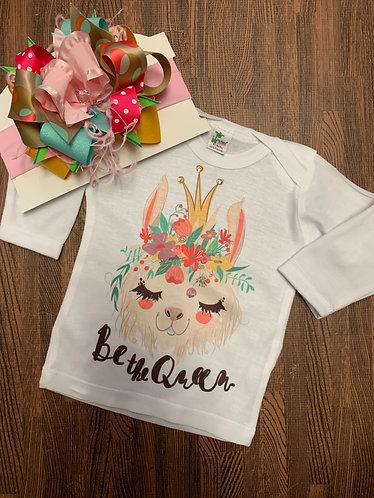 Llama bow