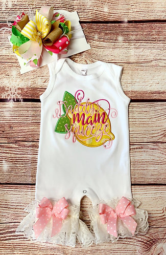 Daddy's main squeeze (romper)