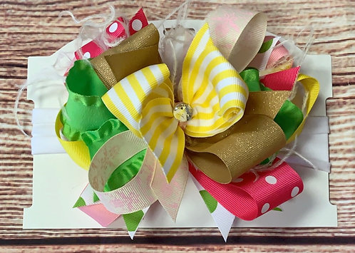 Lemon squeeze bow