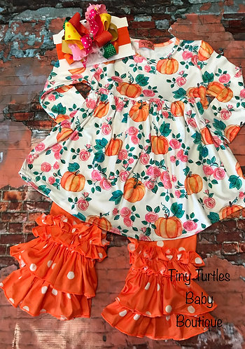 Fall into Fall dress/pants set