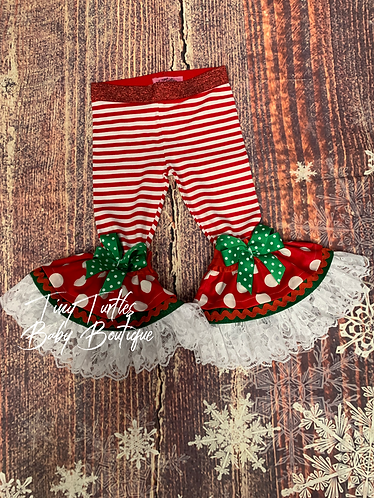 Santa LoVes me ruffle pants