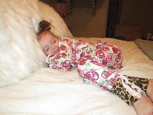 Crazy girl pajamas