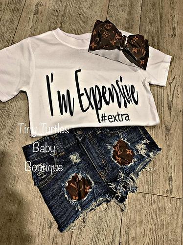 I'm Expensive tee