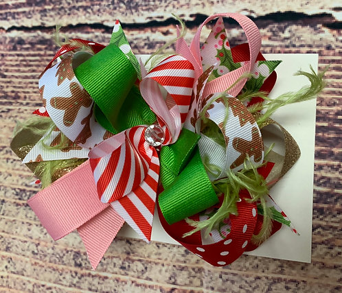 Peppermint Gingy Bow