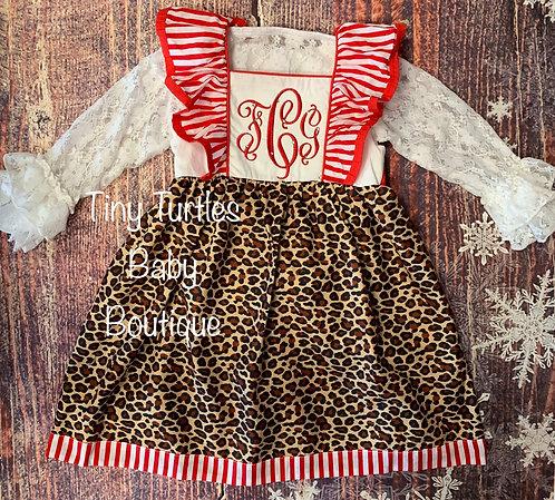 Peppermint Leopard (Dress)