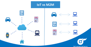 What is the difference between IoT and M2M ?