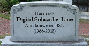 And now, the end is near... For DSL