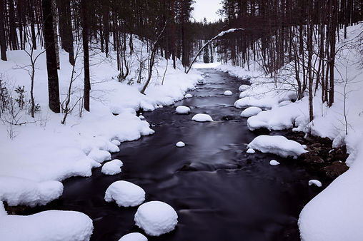 LAPLAND | Small river