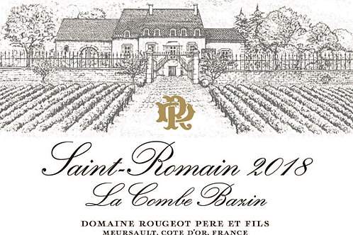 "Saint Romain "" La Combe Bazin"" 2018"