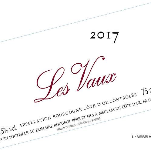 """Bourgogne Côte d'Or """"Les Vaux"""" 2017 Sans sulfite ajouté"""