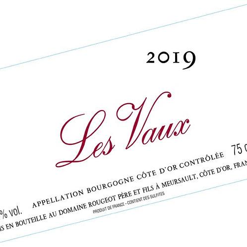 """Bourgogne Côte d'Or """"Les Vaux"""" 2019 Sans sulfite ajouté"""