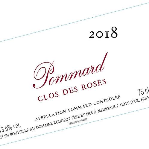 """Pommard """"Clos des Roses"""" 2019 Sans Sulfite Ajouté"""