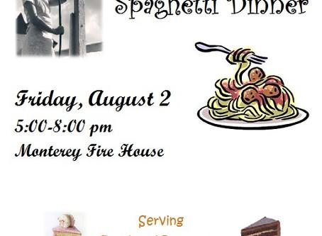 Annual Spaghetti Dinner