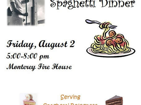 Annual Spaghetti Dinner