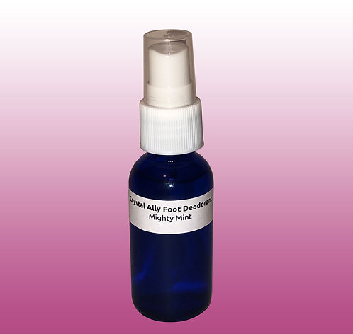 Mighty Mint Foot Deodorizer Sample -Buy 8 oz. & Save $12!